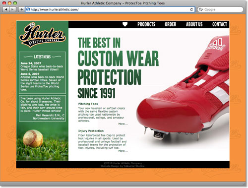 Hurler Athletic Website